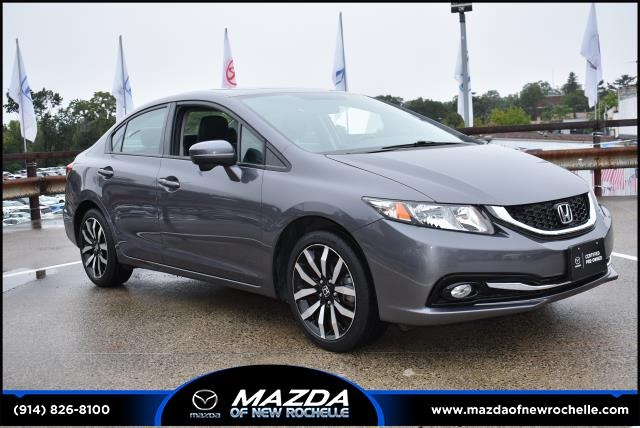 Pre Owned 2014 Honda Civic Ex L 4d Sedan In New Rochelle Mu4038